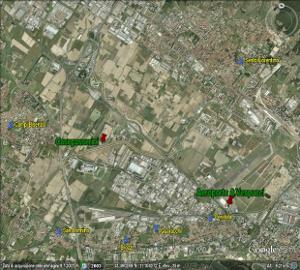 Mappa nocività centri abitati
